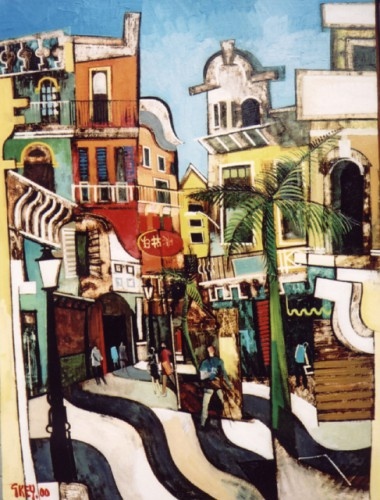 Macau, oil 2000