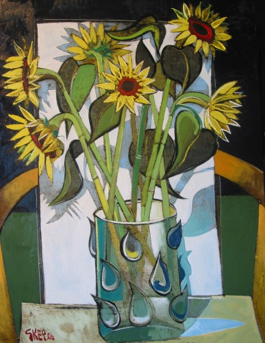 061745sunflowers28x36