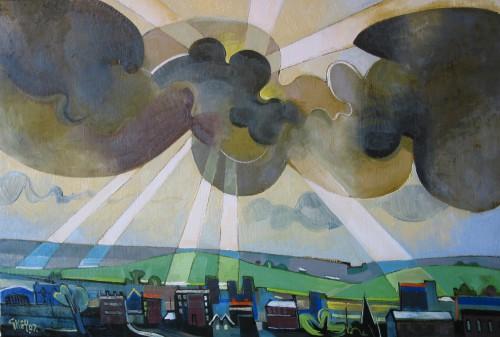 sunrays, oil 2007
