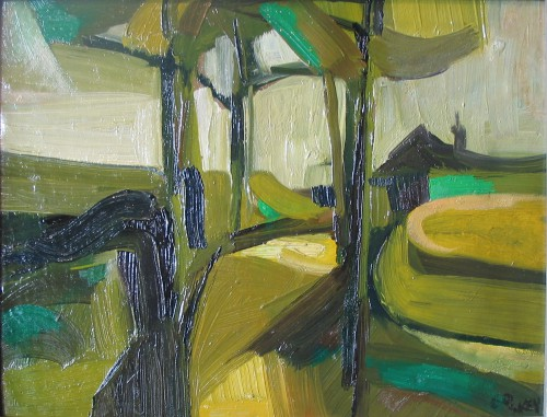 Derbyshire Level, oil 1960