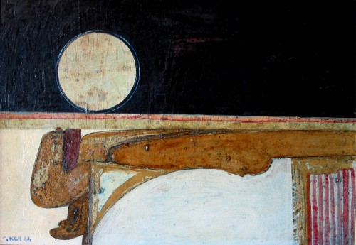 Nab moon, oil 1964
