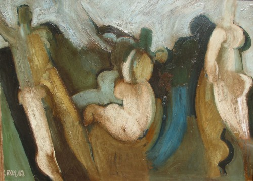 Nab dance, oil 1967