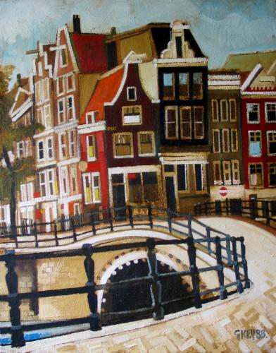 Amsterdam, oil 1988