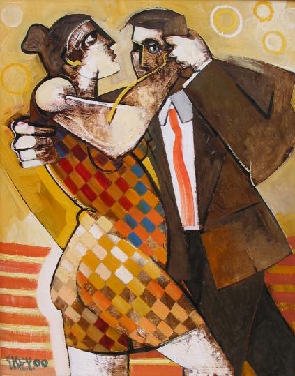 tango, oil 2000