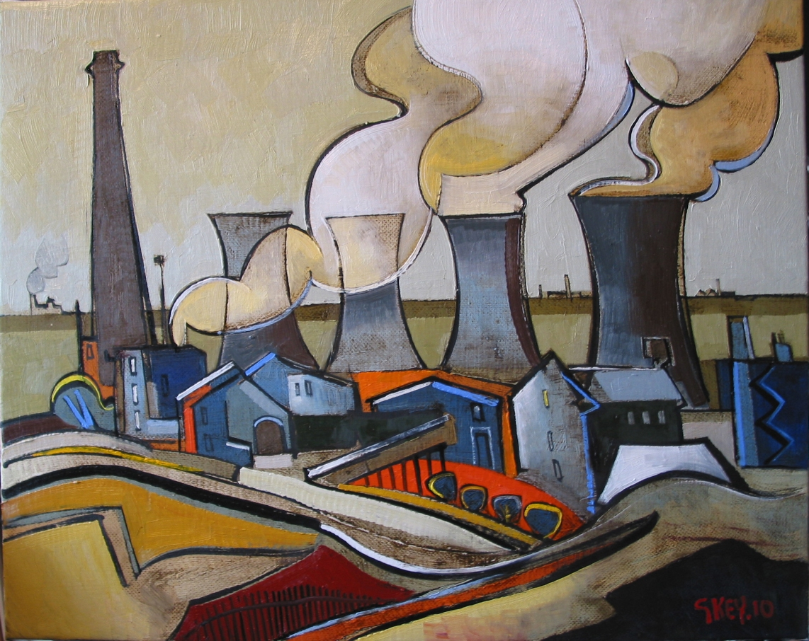 smoke and steam, oil 2010