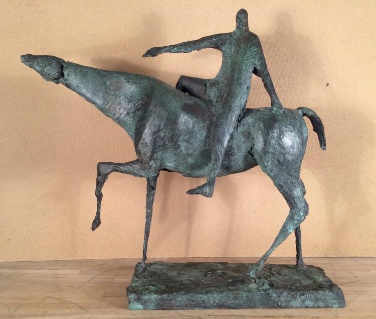 warrior, bronze 1964