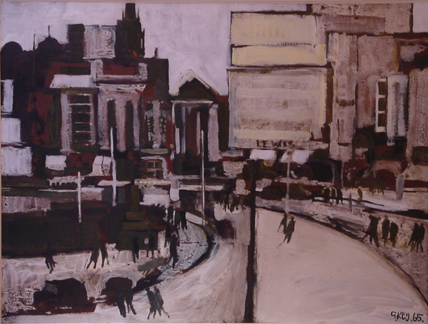 Piccadilly, oil 1965