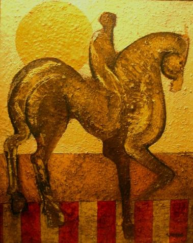 rider, oil 1968