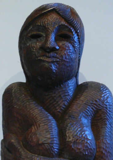 motherhood, stained elm, 1984