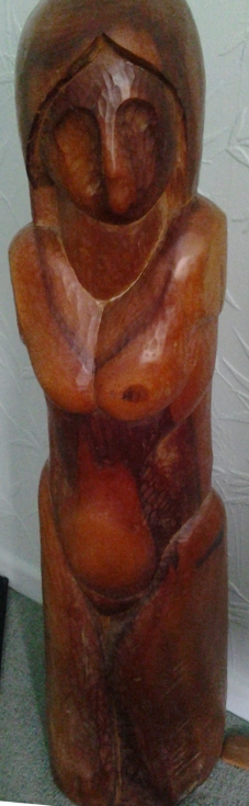 female figure, elm 1985