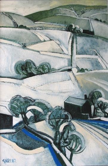 winter, oil 1987