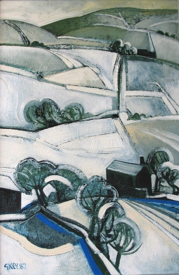 winter, oil 1987