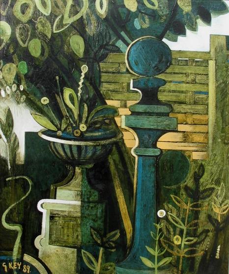 garden, oil 1989