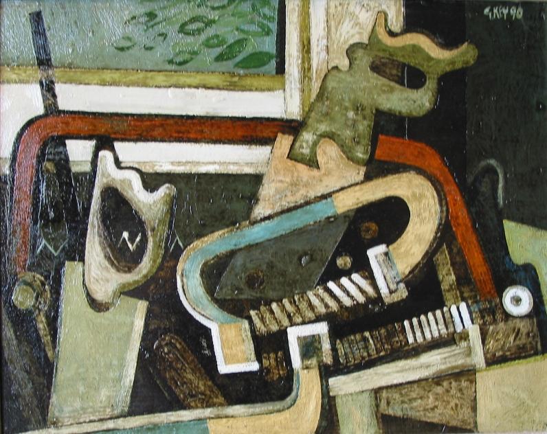 toolbox, oil 1990