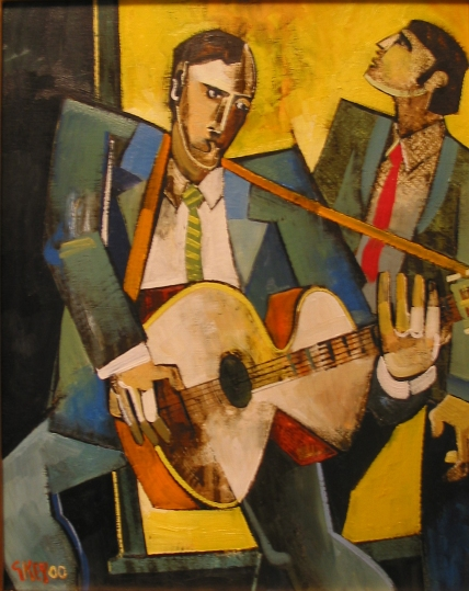 entertainers, oil 2000