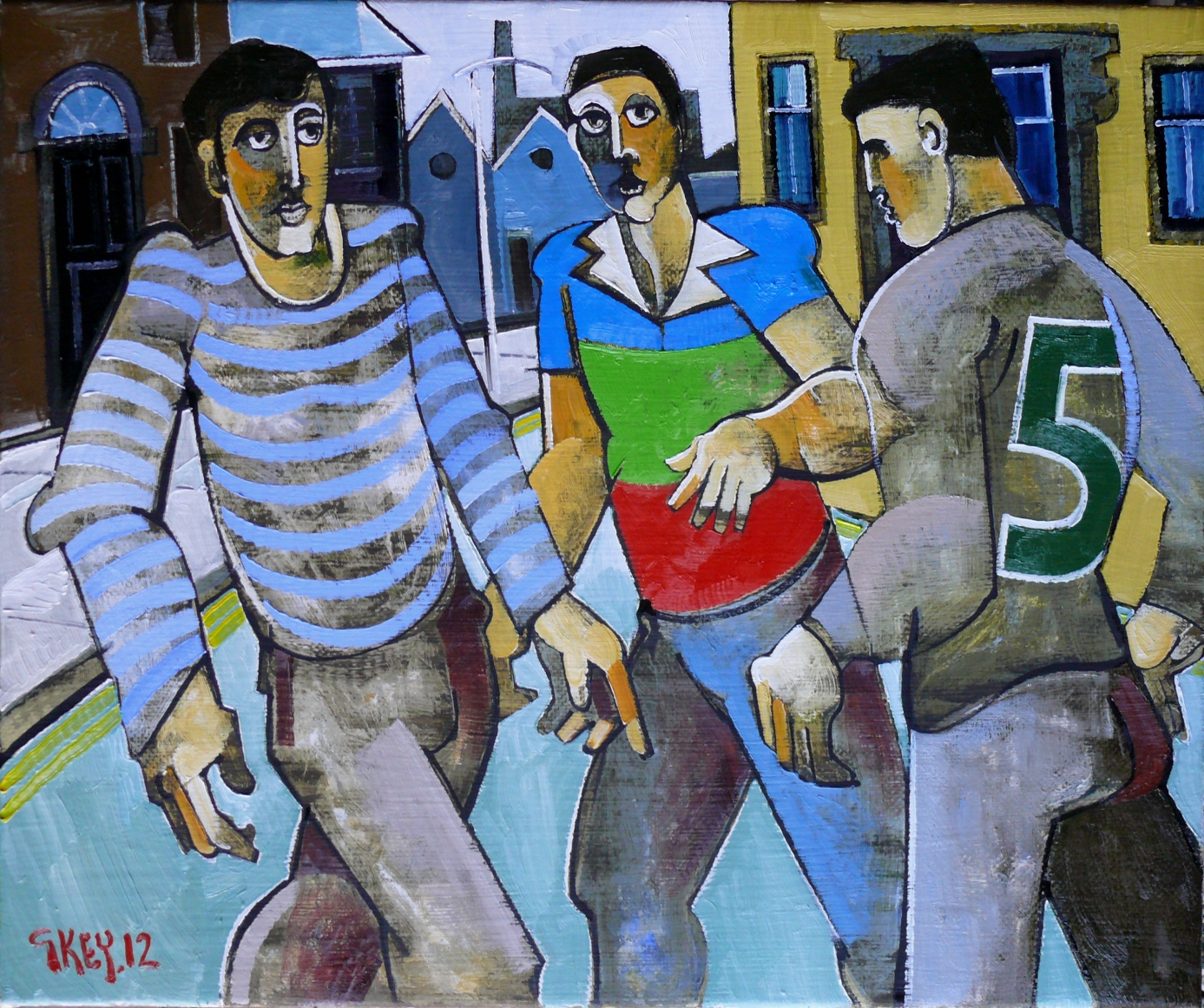 city game, oil 2012