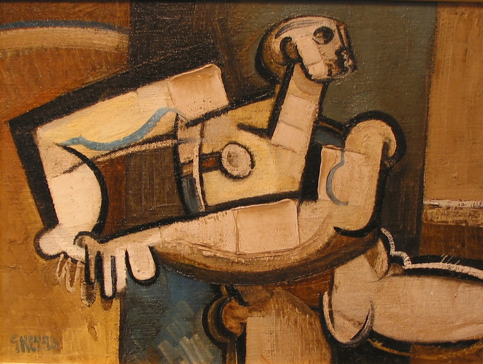 athlete, oil 1993