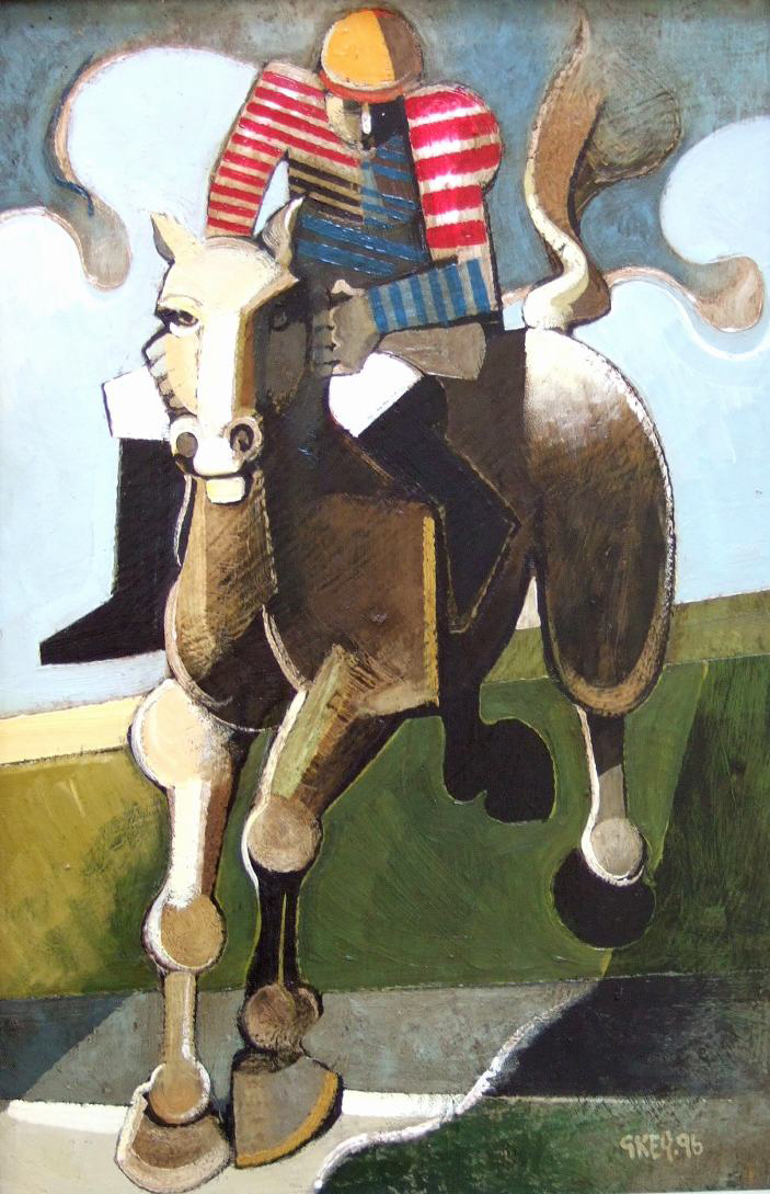 over the jump, oil 1996