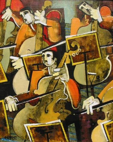 strings, oil 1997