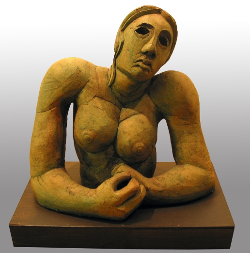 female figure, terracotta 1981